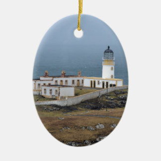 Neist point Lighthouse Ceramic Ornament