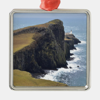 Neist Point Lighthouse Metal Ornament