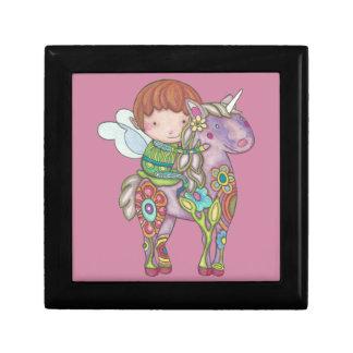 Nelf and its unicorn gift box