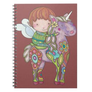Nelf and its unicorn notebook