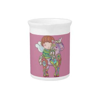 Nelf and its unicorn pitcher