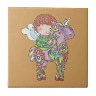 Nelf and its unicorn tile