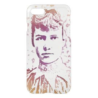 Nellie Bly Pop Art Portrait iPhone 7 Case