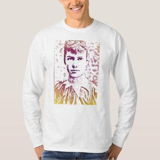 Nellie Bly Pop Art Portrait T-Shirt
