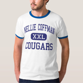 Nellie Coffman Cougars Middle Cathedral City Tee Shirt