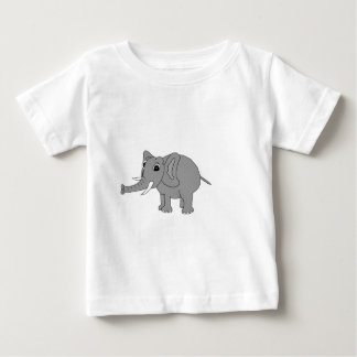 """Nellie"" the elephant (black and white) Tshirt"