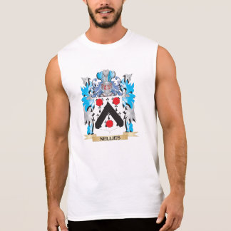 Nellies Coat of Arms - Family Crest Sleeveless Tee