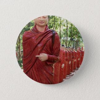 Nellikulama Temple of 500 Arahants, Sri Lanka 6 Cm Round Badge