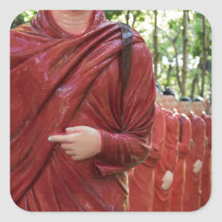 Nellikulama Temple of 500 Arahants, Sri Lanka Square Sticker
