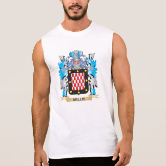 Nellis Coat of Arms - Family Crest Sleeveless T-shirts