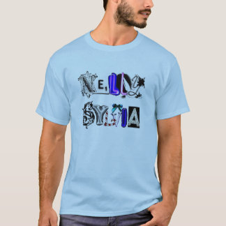 Nelly and Sylvia Letters T-Shirt
