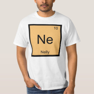 Nelly Name Chemistry Element Periodic Table Tshirts