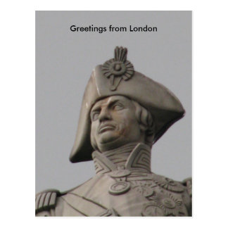 nelson, Greetings from London Postcard