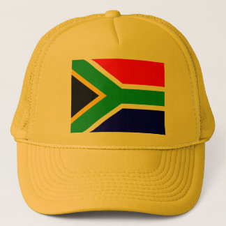 Nelson mandela south africa flag trucker hat