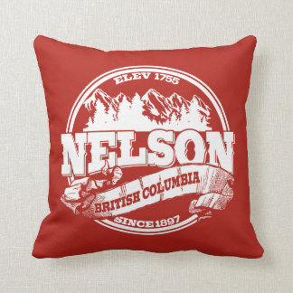 Nelson Old Circle Red Cushion