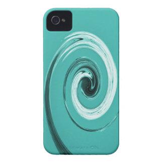 Nelson Twirl Light Blue iPhone 4 Case-Mate Case