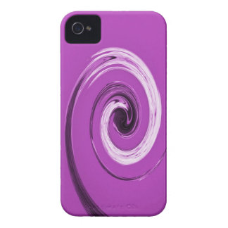 Nelson Twirl Purple iPhone 4 Cover