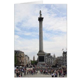 Nelson's Column Card