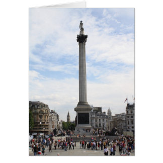 Nelson's Column Greeting Card