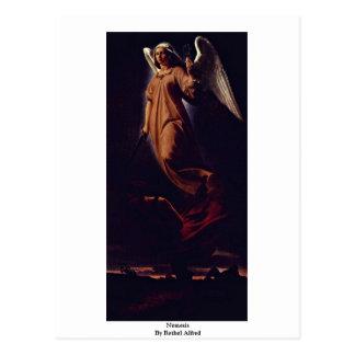 Nemesis By Rethel Alfred Postcard