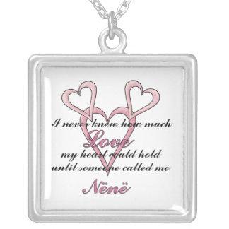 Nënë (I Never Knew) Mother's Day Necklace