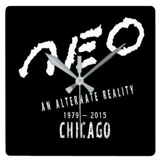 neo Chicago - Square Clock