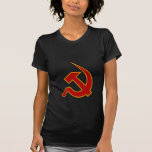 Neo Dark Red & Yellow Hammer & Sickle Shirts