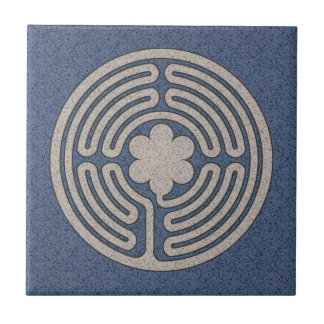Neo-Medieval Labyrinth Tile
