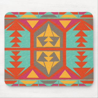 Neo Native Tribal Mouse Pad