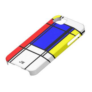 Neo-plasticism Mondrian style iPhone 5 Covers