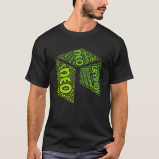 NEO Revolution Blockchain Crypto Word Shirt