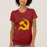 Neo-Thick Chrome Yellow Hammer & Sickle