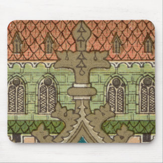 NeoGothic Cross (Pattern 1 after SAU 22) Mouse Pad
