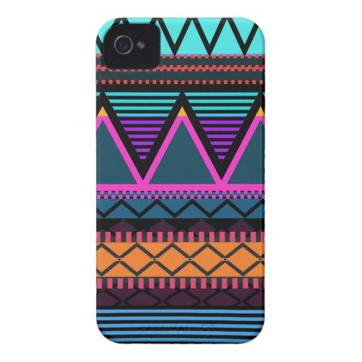 Neon 2 Modern Tribal Blackberry Bold Case