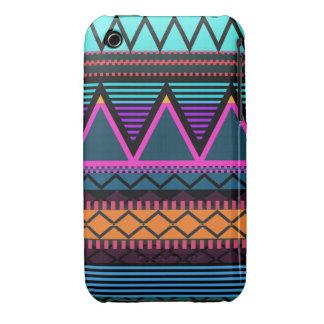 Neon 2 Modern Tribal iPhone 3/3GS Case-Mate Ca iPhone 3 Case-Mate Case