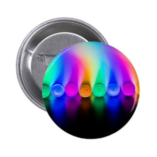 Neon 6 Cm Round Badge