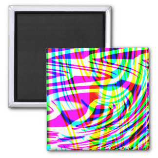 Neon Abstract Magnet