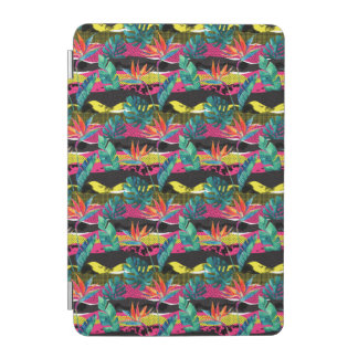 Neon Abstract Tropical Texture Pattern iPad Mini Cover