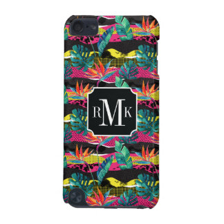 Neon Abstract Tropical Texture Pattern iPod Touch 5G Case