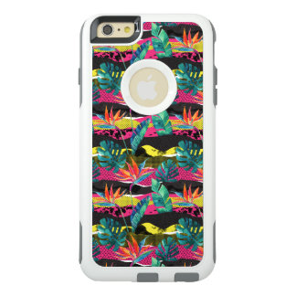 Neon Abstract Tropical Texture Pattern OtterBox iPhone 6/6s Plus Case