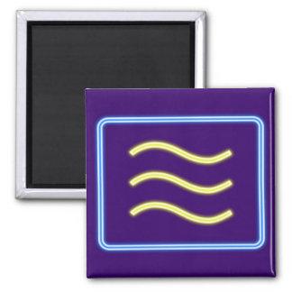 Neon advertisement neon sign microwave microwave fridge magnets