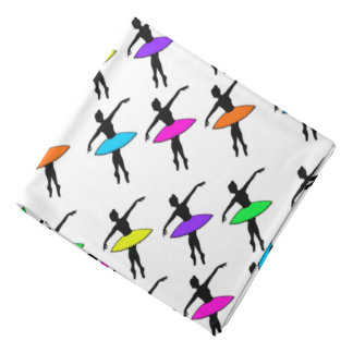 Neon Ballerinas Ballet Dance Teacher Bandana