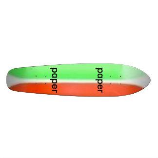 neon_blank_decks, paper, paper skate board