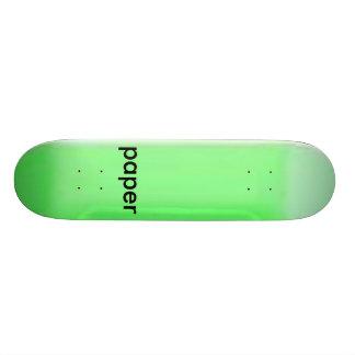 neon_blank_decks, paper skateboard