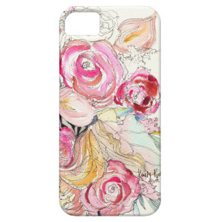 Neon Blooms iPhone Case Barely There iPhone 5 Case