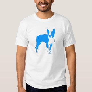 Neon Blue Boston T Shirts
