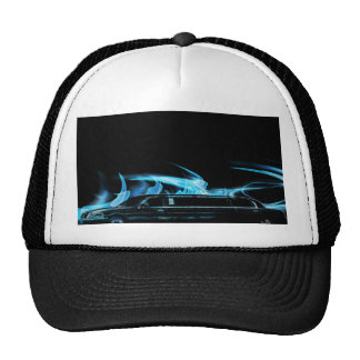 Neon Blue Limosine Manage this category Cap