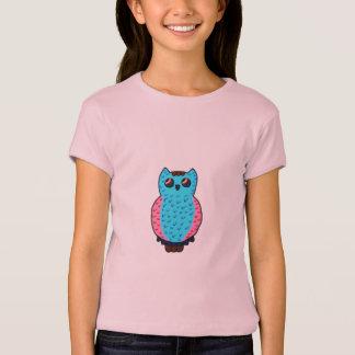 Neon Blue Owl T-Shirt