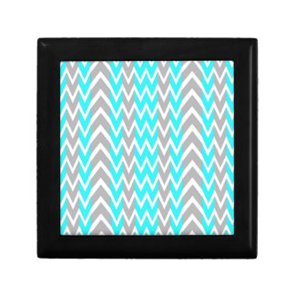 Neon Blue With Gray Fins Gift Box