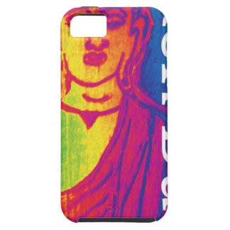 Neon broken buddha case for the iPhone 5